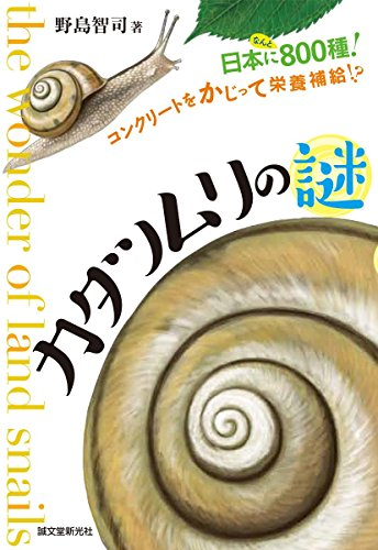 カタツムリの謎: 日本になんと800種! コンクリートをかじって栄養補給!?の詳細を見る