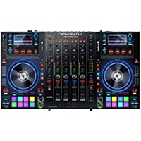 Denon DJ USBメディア対応 スタンドアローン4デッキDJコントローラー Serato DJ付属 MCX8000