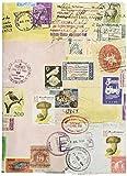 アーティミス ブックカバー フリーサイズ 切手 FFSBC