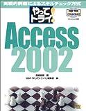 やってトライ!Access2002―実戦的例題によるスキルチェック方式
