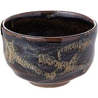 抹茶碗 : 有田焼 縄目天目(NW-12) 野点碗