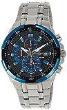 CASIO(カシオ) EDIFICE エディフィス EFR-539D-1A2V ブルー×シルバー 腕時計 海外モデル [並行輸入品]