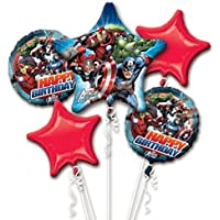 Avengers誕生日バルーンブーケコンボMylar Foil Balloon