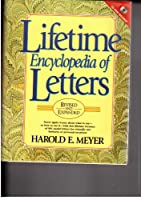 Lifetime Encyclopedia of Letters with new and revised CD-ROM