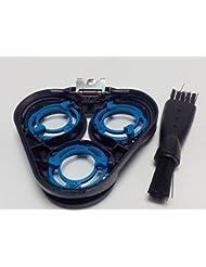 シェービングカミソリヘッドフレームホルダーカバー フィリップス Philips S5000 Series:S5570 S5560 S5380 S5370 S5230 S5210 S5130 S5130/06 ブラック Shaver...