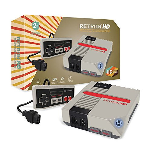 【Hyperkin】 RetroN 1 HD Gaming Console for NES レトロン1(Gray)【グレー】新品