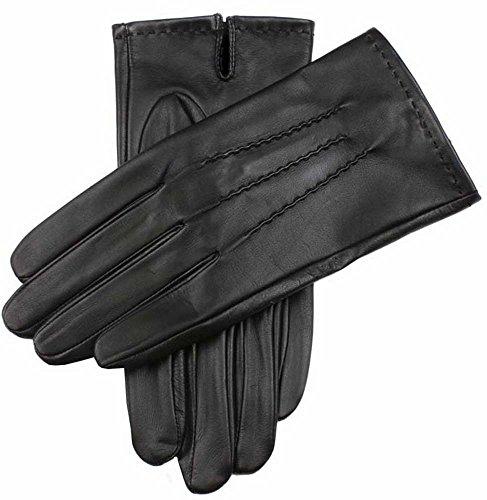 (デンツ)DENTS 天然皮革 レザーグローブ 5-9201 (スマートフォン対応) メンズ ブラック L [並行輸入品]