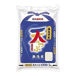 【精米】福島県産 無洗米 天のつぶ 5kg 平成29年産
