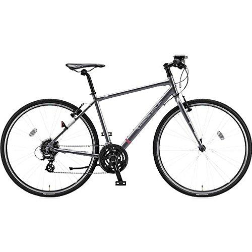 ブリヂストングリーンレーベル(BRIDGESTONE GREEN LABEL) クロスバイク CYLVA(シルヴァ) F24 N.Bガンメタグレー F2448 480mm