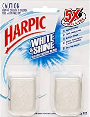 Harpic White & Shine Toilet Cistern Cleaner Twin, 100g (Pack of 2)
