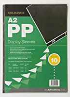 GOLDLINE PP DISP SLEEVES A2 CLEAR PK10