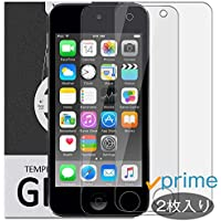 Yelloy iPod touch 6/5 世代 用 ガラスフィルム (第5世代/第6世代) 強化ガラス 保護 フィルム 0.26mm 保護ガラス ガラス 9H 液晶保護フィルム 5th 6th generation touch5 touch6 アイポッド タッチ ipodtouch6 ipodtouch5