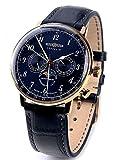 ツェッペリン 腕時計 ドイツブランド 日本製クォーツ カレンダー ムーンフェイズ LZ129 7038-3 [並行輸入品]