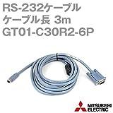 三菱電機 GT01-C30R2-6P (RS-232ケーブル) (シーケンサCPU-GOT) (3m) NN