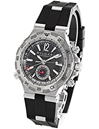 8642dfff0536 ブルガリ ディアゴノ プロフェッショナル スクーバ GMT 腕時計 メンズ BVLGARI DP42C14SVDGMT[並行 ...