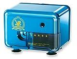 アスカ 電動シャープナー メタリックブルー 芯先調整機構 EPS401B