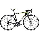 メリダ(MERIDA) ロードバイク SCULTURA 700 マットブラック/グリーン AMS07477 47cm