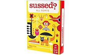 SUSSED All Sorts (Hilarious Family Friendly Conversation Card Game) (Find Out Who Knows Who Best)