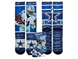 Ezekiel Elliott Dallas Cowboys Color Rush Youth Boys Socks(Ages 4 to 8 yrs) [並行輸入品]