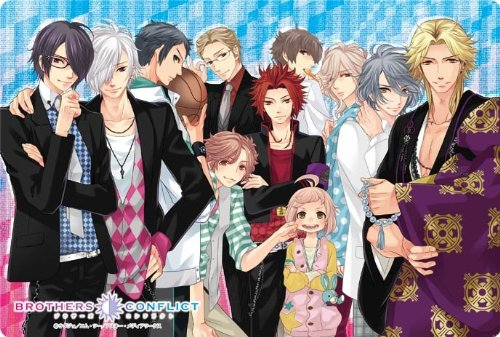 BROTHERS CONFLICT 大判マウスパッド 朝日奈兄弟