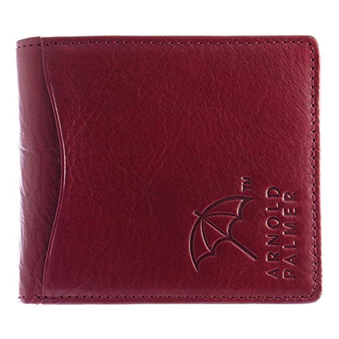 写真を描くステージ良心アーノルドパーマー 二つ折り財布 短財布 ユニセックス 4AP3186-WI ワイン [並行輸入品]