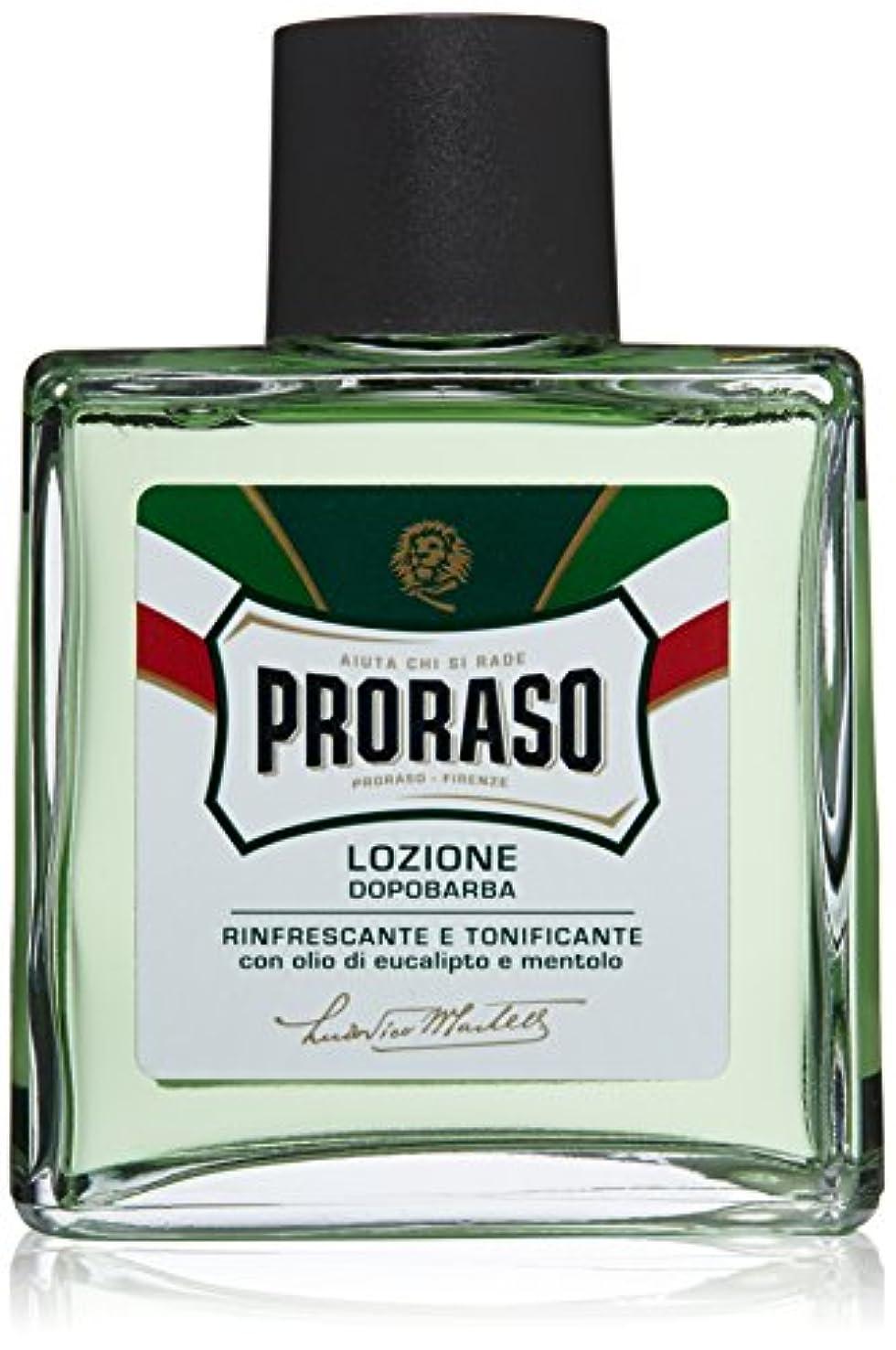 サポート非難するゲートウェイProraso アフター シェイブ ローション 並行輸入品 Proraso Aftershave Lotion Refresh 100 ml