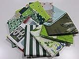 小関鈴子 カットクロス10枚セット C |生地|布地|パッチワーク|巾着|ハギレ|はぎれ|小物つくり|素敵|有輪|YUWA|YUWA|しなやか|ナチュラル|やわらかい|上質|ソーイング|手芸|手作り|通販|安い|福袋|お楽しみ袋|