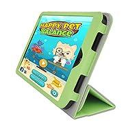 iShoppingdeals–for HPストリーム8タブレット(モデル5901のみ)二つ折りスキンカバーケース,芝生グリーン