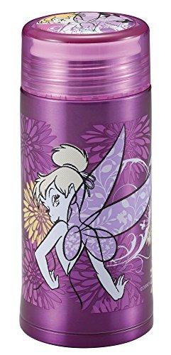 ディズニー 軽量 スリム パーソナル ボトル 200ml ティンカーベル/フラワー