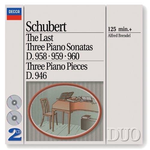 シューベルト:後期3大ピアノ・ソナタ集