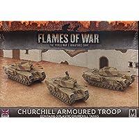 Flames of War: Mid War: British: Churchill Armoured Troop
