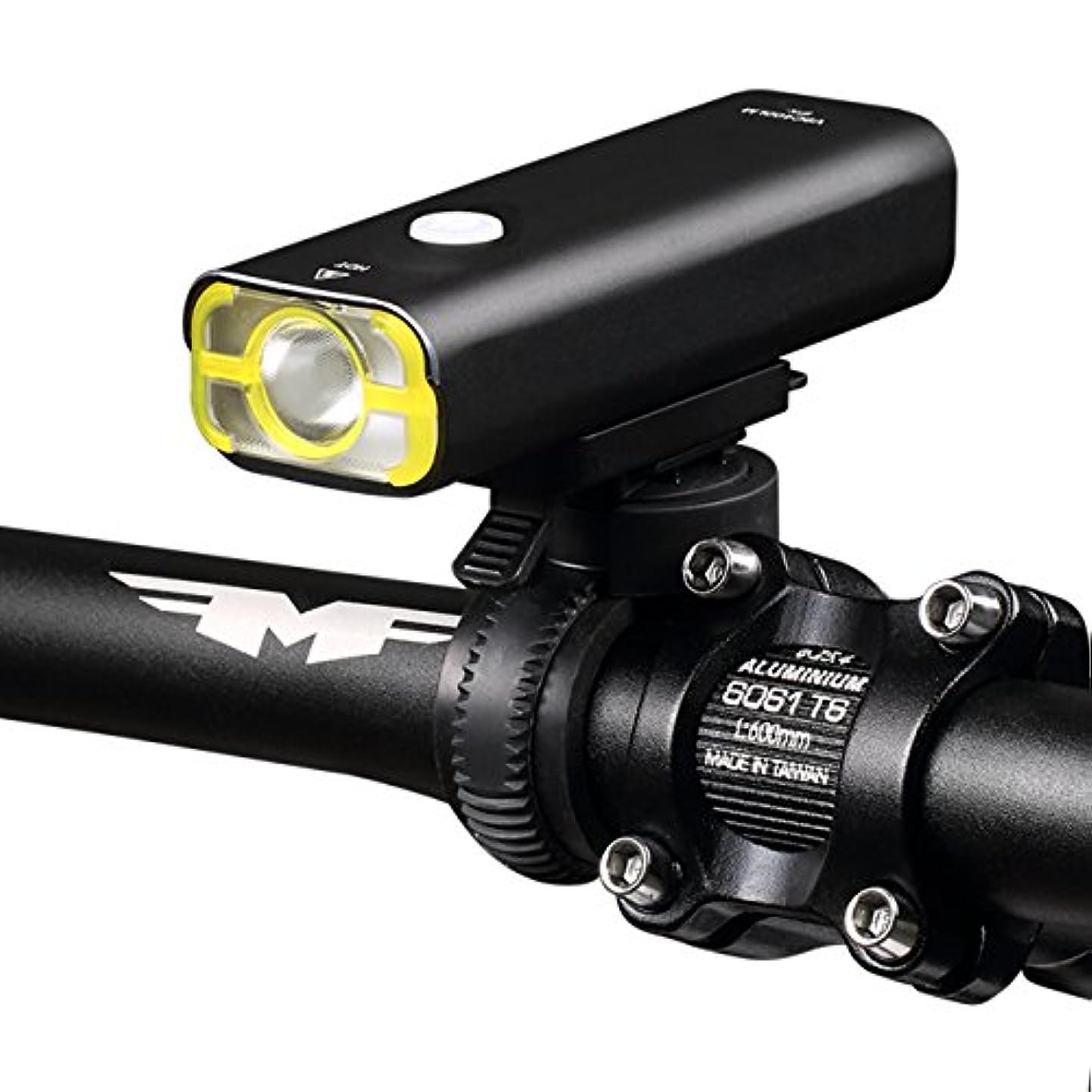 ちなみに不器用啓示Wheel Up 自転車ライト 2500mA USB充電フロントランプ 防水 ハンドル ライディング LEDライト バッテリー 懐中電灯 ヘッドランプ アクセサリー 400ルーメン