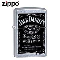 ZIPPO(ジッポー) オイルライター 24779 JACK DANIEL'S ストリートクローム 【人気 おすすめ 通販パーク】