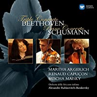 Beethoven: Triple Concerto Etc. by Martha Argerich