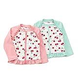 Bobson(ボブソン)ラッシュガード(80〜130cm)キムラタンの子供服(88323-171b)ピンク110