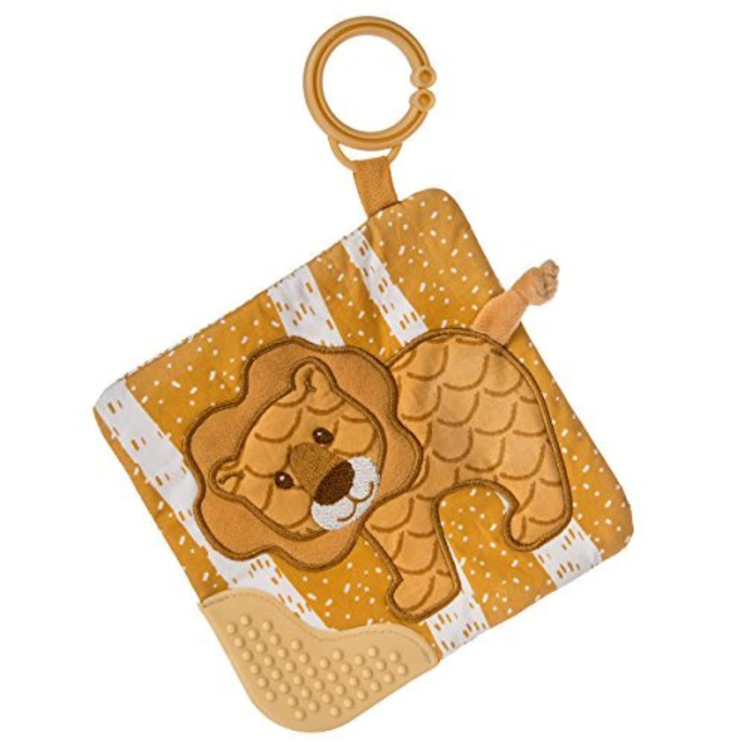 Mary Meyer Afrique Crinkle Teether Toy Lion [並行輸入品]