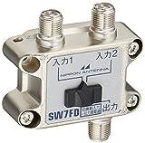 日本アンテナ 電波切換器 屋内用 SW7FD-SP