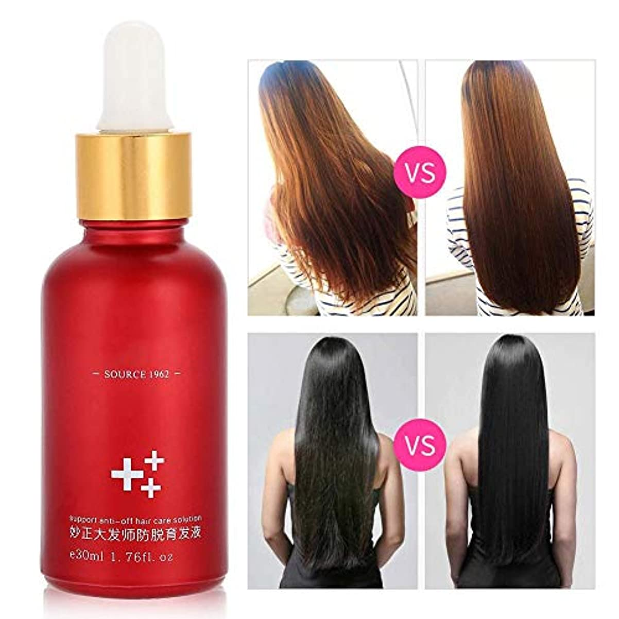 処理する息苦しい理容師ヘアオイルセラム、30mlドライ/フリジーヘア用メンズセラムは、もつれや枝毛を減らし、非油性軽量スタイリング製品で髪を滑らかで柔らかく、明るくします