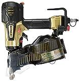 日立工機 高圧ロール釘打機 メタリックゴールド 針金38~65mm シート32~50mm 品確法・2×4対応 NV65HR(S)