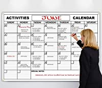 HUUUGE Wall Calendar 48-Inch by 72-Inch Extra Large Date Boxes Heavy Duty Laminate/Paper Comes Rolled Perfect for Organizing [並行輸入品]