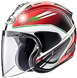 アライ (ARAI) ジェットヘルメット VZ-RAM (VZ-ラム) ウエッヂ (WEDGE) 赤 61-62cm VZ-RAM_WEDGE_RD61