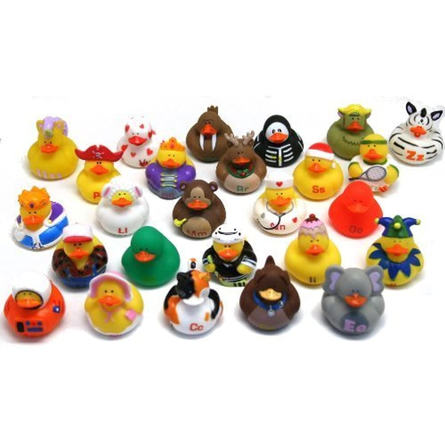 ABC'S Rubber Duckies (26 PIECES) [並行輸入品]