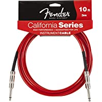 Fender ケーブル Fender® California Instrument Cable, 10', Candy Apple Red