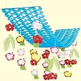 バリューハイビスカスプリーツハンガー | 夏の吊り装飾ディズプレイ(飾り)