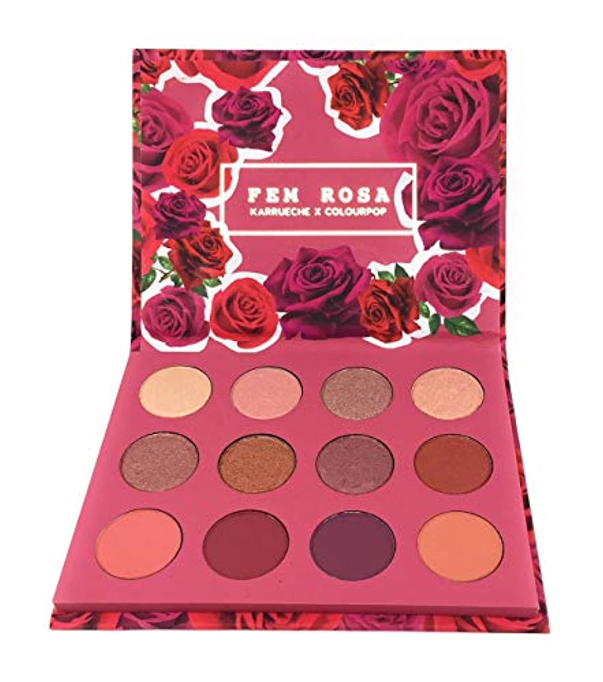 オーケストラウェーハハンバーガーカラーポップ Colourpop She - Pressed Powder Shadow Palette