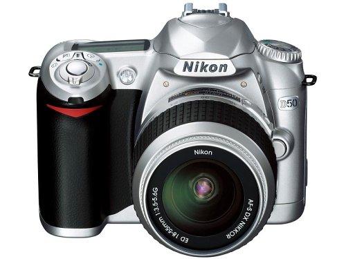Nikon D50 シルバー デジタル一眼レフカメラ レンズキット〔AF-S DX ズームニッコール ED 18~55mm F3.5~5.6G〕