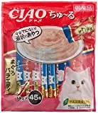 チャオ (CIAO) 猫用おやつ ちゅ~る まぐろバラエティ 14g×45本入