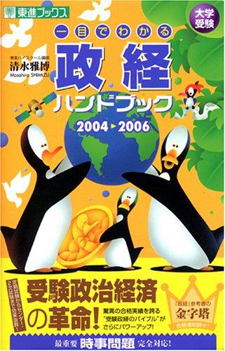 大学受験一目でわかる政経ハンドブック (2004→2006) (東進ブックス)の詳細を見る