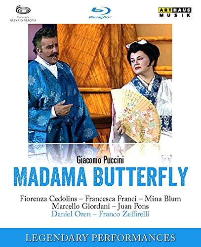 プッチーニ:歌劇「蝶々夫人」[Blu-ray Disc]