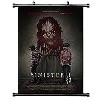 Sinister 2ムービーファブリック壁スクロールポスター( 16x 24)インチ